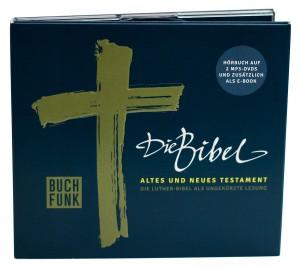 Die Bibel auf zwei mp3-dvd
