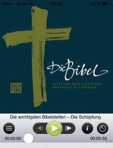 Bibel-Hörbuch-App